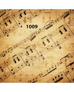 Photography Background in Fabric Musical / Backdrop 1009