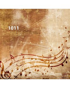 Photography Background in Fabric Musical / Backdrop 1011