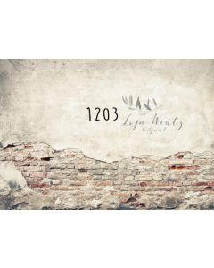Photography Background in Fabric Wall of Bricks / Backdrop 1203