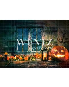 Photography Background in Fabric Halloween / Backdrop 1242
