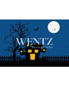 Photography Background in Fabric Halloween / Backdrop 1244