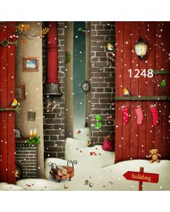 Photography Background in Fabric Christmas / Backdrop 1248
