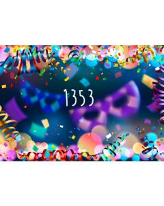 Photography Background in Fabric Carnival / Backdrop 1353