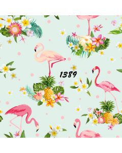 Photography Background in Fabric Tropical Summer / Backdrop 1389