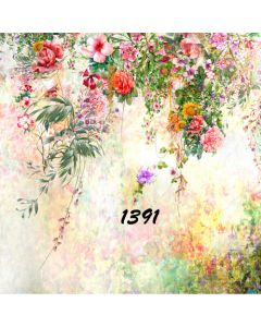 Photography Background in Fabric Tropical Summer / Backdrop 1391