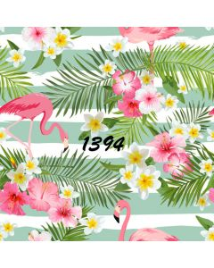 Photography Background in Fabric Tropical Summer / Backdrop 1394