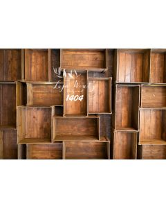 Photography Background in Fabric Wood Bins / Backdrop 1404