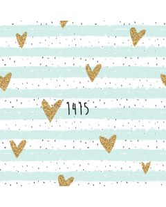 Photography Background in Fabric Glitter Heart Pastel Color / Backdrop 1415