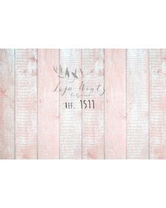 Photography Background in Fabric Wood Pink / Backdrop 1511