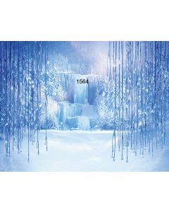 Photography Background in Fabric Frozen Christmas / Backdrop 1564