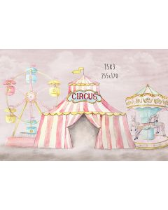 Photography Background in Fabric Circus / Backdrop 1583