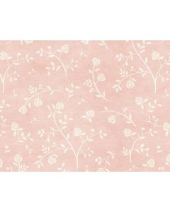 Photography Background in Fabric Pink Floral / Backdrop 1644