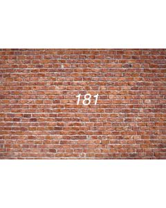 Photography Background in Fabric Wall of Bricks / Backdrop 181