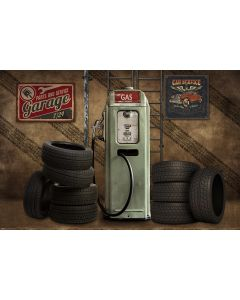Photography Background in Fabric Garage / Backdrop 1863