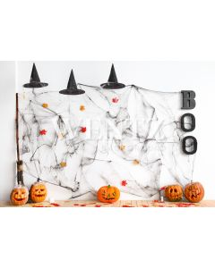 Photography Background in Fabric Halloween Set / Backdrop 2360