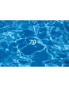 Photography Background in Fabric Summer Swimming Pool / Backdrop 79