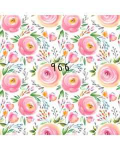 Photography Background in Fabric Floral / Backdrop 966