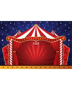Photography Background in Fabric Circus / Backdrop 1232