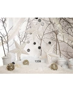 Photography Background in Fabric Christmas / Backdrop 1339