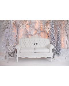Photography Background in Fabric Christmas / Backdrop 1341