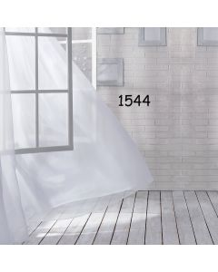 Photography Background in Fabric Windows with Curtains / Backdrop 1544