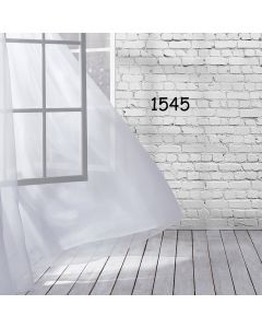 Photography Background in Fabric Windows with Curtains / Backdrop 1545