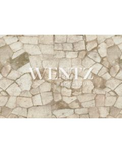 Photography Background in Fabric Light Stone Floor / Backdrop 2351