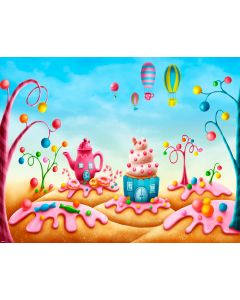 Photography Background in Fabric Scenarios Candies / Backdrop 1590