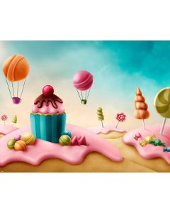Photography Background in Fabric Scenarios Candies / Backdrop 1591