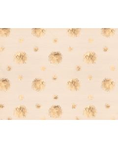 Photography Background in Fabric Golden Balls With Beige / Backdrop 1633