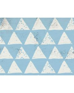 Photography Background in Fabric Blue Triangle / Backdrop 1634