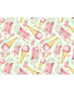 Photography Background in Fabric Ice Cream / Backdrop 1638