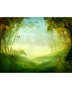 Photography Background in Fabric Forest / Backdrop 1641