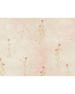 Photography Background in Fabric Beige Flowers / Backdrop 1645