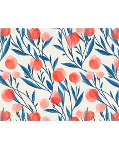 Photography Background in Fabric Floral / Backdrop 1647
