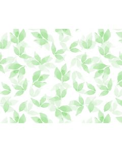 Photography Background in Fabric Green Leaves / Backdrop 1657