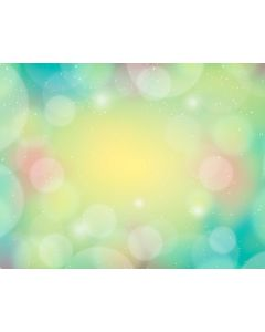Photography Background in Fabric Colorful Bokeh / Backdrop 1662