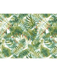 Photography Background in Fabric Green Leaves / Backdrop 1680