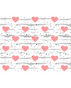 Photography Background in Fabric Heart /  Backdrop 1689