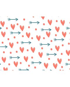 Photography Background in Fabric Heart  / Backdrop 1692