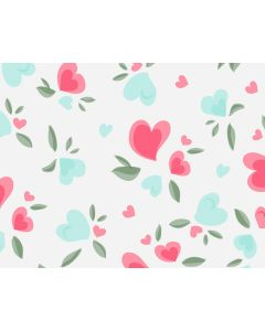 Photography Background in Fabric Heart / Backdrop 1706