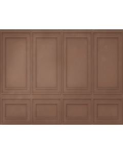 Photography Background in Fabric Boiserie Brown Wall / Backdrop 1736