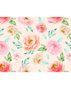 Photography Background in Fabric Floral / Backdrop 1746