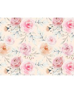 Photography Background in Fabric Floral / Backdrop 1747