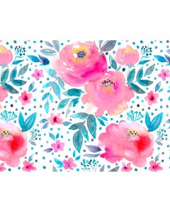 Photography Background in Fabric Floral / Backdrop 1749