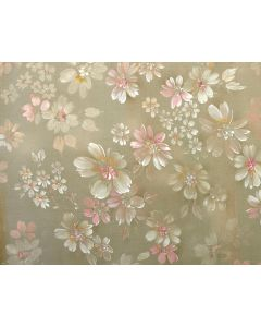 Photography Background in Fabric Floral / Backdrop 1762