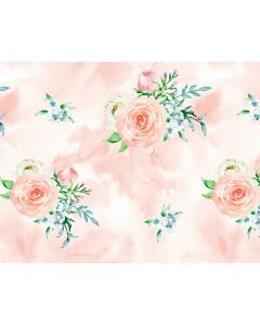 Photography Background in Fabric Floral / Backdrop 1764