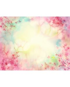 Photography Background in Fabric Floral / Backdrop 1766