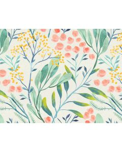 Photography Background in Fabric Floral / Backdrop 1793