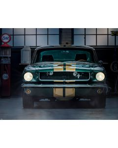 Photography Background in Fabric Car and Daddy Garage / Backdrop 1832